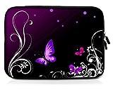 Sidorenko 10,1-10,2 Zoll Tablet Hülle - Tasche aus Neopren, Violett, 42 Designs zur Auswahl