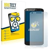 BROTECT Protector Pantalla Cristal para Motorola Droid Turbo 2 - Cristal Vidrio 9H, AirGlass