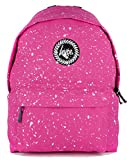 Hype Backpack Rucksack Shoulder Bag – Pink White Speckle – For Boys and Girls, Women and Men – Pink White Speckle