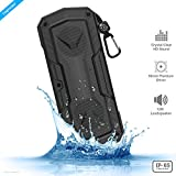 #7: ZAAP ® (USA) Hydra Xtreme Premium waterproof/ Shockproof Bluetooth Wireless speaker With Built-In Microphone,Black
