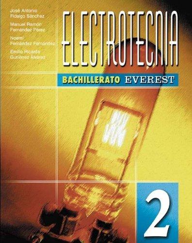 Electrotecnia 2º Bachillerato de Gutiérrez Álvarez Emilio Ricardo (2003) Tapa blanda