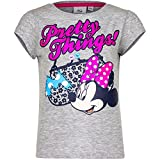 Disney Minnie Mouse T-Shirt, Art. 3983, grau, Gr. 128