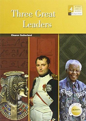 THREE GREAT LEADERS (4 ESO)