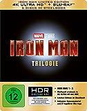 DVD & Blu-ray - Iron Man-Trilogie Steelbook (4K Ultra HD) [Blu-ray] [Limited Edition]