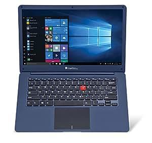 iBall M500 14-inch Laptop (Intel Celeron N3350/4GB/32GB/Windows 10/Integrated Graphics), Cobalt Blue