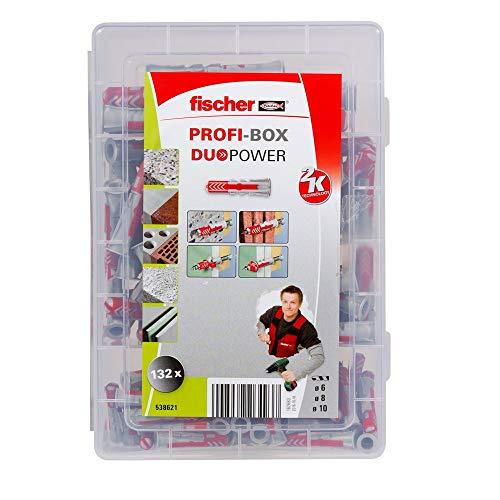 Fischer - Caja tacos tornillos - juego profesional