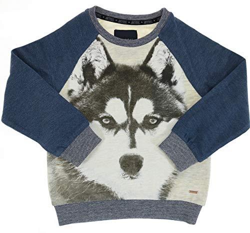 Mayoral Jungen Kinder-Sweatshirt Husky Hund, Gr. 128 (128)