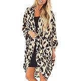 Leisure Women Fashion Leopard Print Coat Top Suit Bikini Swimwear Beach Costume da Bagno Smock Sconto Primavera Estate 2019