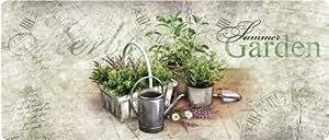 Akzente Wolf 92093 Tapis de cuisine Motif herbes de l'été Multicolore 50x120cm