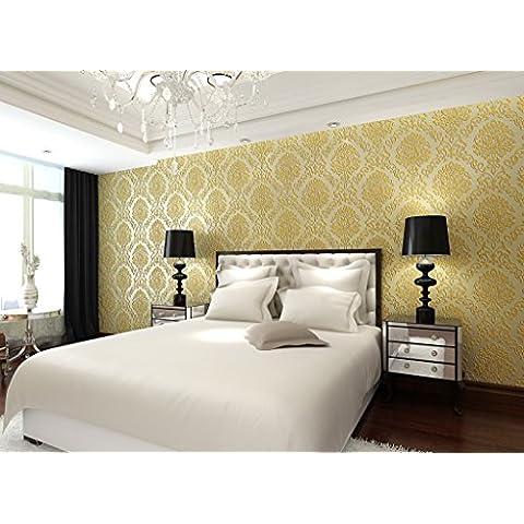 BBSLT Semplice di stile Europeo e 3D schiuma pagamenti sub tessuto non-carta da parati camera da letto soggiorno da parete a parete sfondo , 3 - Stati Uniti Schiuma Mappa
