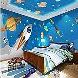 Ponana Papel Tapiz 3D Personalizado De Dibujos Animados De Cuento De Hadas Casa Completa Mural De La Pared Papel Tapiz De Los Niños Vivero Jardín De Infancia Wallpaper B-280X200Cm