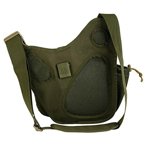 Reefa Tasche Umhängetasche Messenger Bag Unisex Grün