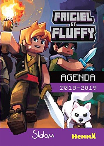 Frigiel et Fluffy - Agenda scolaire 2018-2019