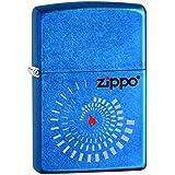 Zippo 60001071 Block Spirls Briquet Laiton Cæruleum 3,5 x 1 x 5,5 cm