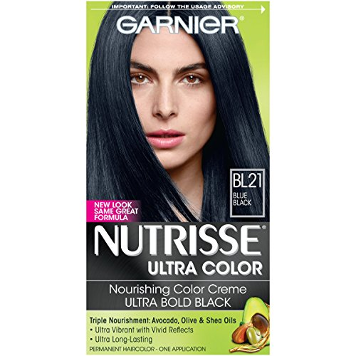 garnier crme colorante nutritive nutrisse ultra color coloration permanente pour des cheveux soyeux - Coloration Permanente Bleu