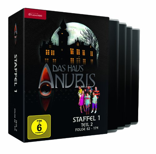Das Haus Anubis - Staffel 1, Teil 2 (Folge 62-114) [4 DVDs] [Edizione: Germania]