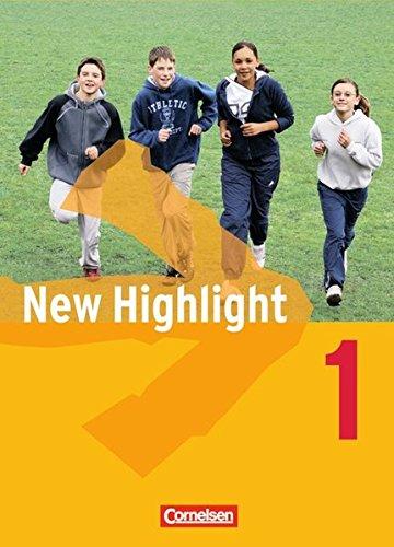 New Highlight - Allgemeine Ausgabe / Band 1: 5. Schuljahr - Schülerbuch,