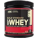 Optimum Nutrition 100% Whey Gold Standard Complément Alimentaire Format Voyage Vanille