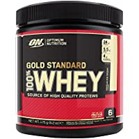 Optimum Nutrition Gold Standard 100% Whey, Vanilla Ice Cream, 6 Serve tub