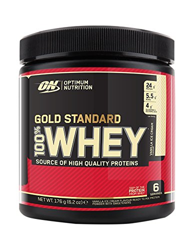 Optimum Nutrition 100% Whey Gold Standard Complément Alimentaire Format Voyage Vanill