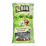 COMPO BIO NaturDünger für Rasen, Natürliche Sofort- und Langzeitwirkung, Feingranulat, 16 kg, 400 m²