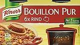 Knorr Bouillon Pur Rind Brühe 6 x 500 ml, 4er-Pack