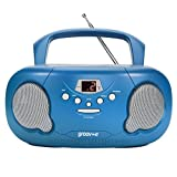 Best Cd Player For Kids - Groov-e Portable CD Player Boombox with AM/FM Radio Review