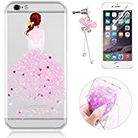 Sunroyal® Custodia iPhone 6 Silicone, Case Cover per iPhone 6s