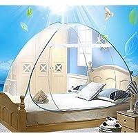 Reise doppelbett Yurt moskitonetz Student bett imprägniert moskitonetz für Reisende Wanderer und Camper Innen- und Außenbereich