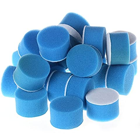 2inch Blue Flat Polishing Buff Pad For Air Sander Car Polisher Pack of 12Pcs