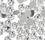 Diamantes de imitación de Jollin, reverso plano y fijación con pegamento