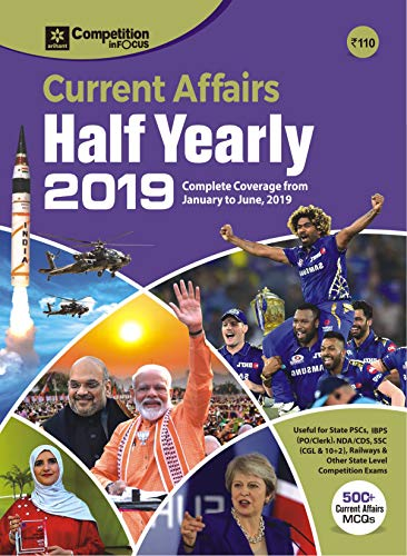Current Affairs Half Yearly 2019