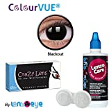 ColourVUE Crazy Lens Blackout Color Zero...