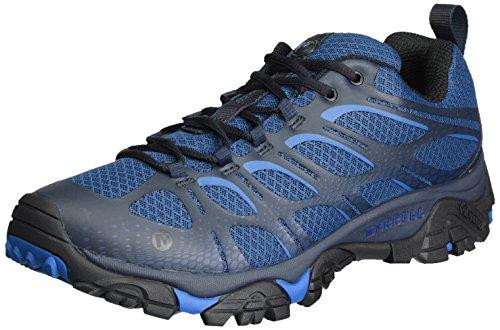 Merrell Moab Edge, Zapatillas de Senderismo Hombre, Azul (Poseidon), 40 EU (6.5...