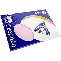 Clairefontaine Trophée - Mini resma de papel, 100 hojas, color morado