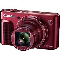 Canon PowerShot SX720 HS Digitalkamera (20,3 Megapixel CMOS-Sensor, 7,5 cm (3 Zoll) LCD-Display, 40 x Zoom, Full HD, WLAN) rot