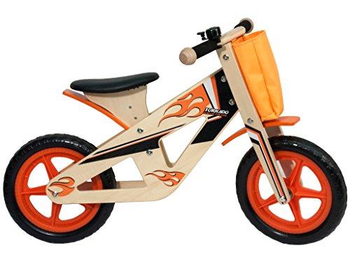 Teorema - 40496 Bicicletta Ruota Libera, Senza Pedali, Legno