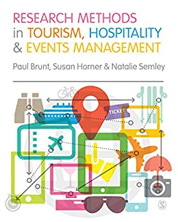 Research Methods in Tourism, Hospitality and Events Management by [Brunt, Paul, Horner, Susan, Semley, Natalie]
