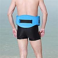 grofitness Back flotante nadar cinturón EVA espuma entrenamiento de natación ayuda cintura adultos niños Piscina flotador para nadar