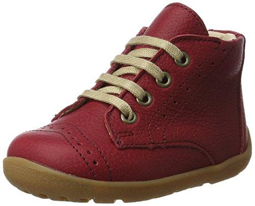 Däumling Baby Mädchen Pat Sneaker Rot (Nappa Cf Tramonto)