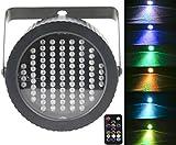 Bühnenbeleuchtung Par 86 LED Farbe, Latta Alvor LED Discokugel DMX512 RGB Blitzlicht Disco Lichteffekte Partylicht Partybeleuchtung