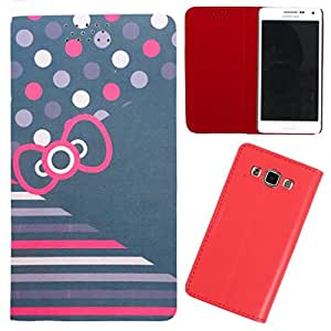 DooDa - For Karbonn A6 PU Leather Designer Fashionable Fancy Flip Case Cover Pouch With Smooth Inner Velvet