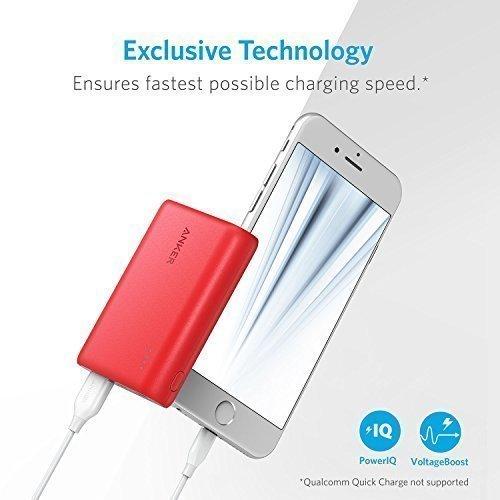 Anker Batteria Portatile USB PowerCore 10000 - Caricabatteria...
