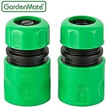 """GardenMate® 13mm (1/2"""") Universal Schlauchverbinder Schlauchstück und Wasserstop Set"""
