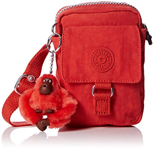 Kipling , Borsa Messenger  Uomo, Orange (Sugar Orange 06H) (Arancione) - (Orange Messenger)