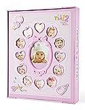 FaCraft Álbum de fotos para bebés tiene 200 fotos de 6x4 pulgadas y 20 de 6x8 pulgadas