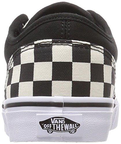 Vans Atwood, Sneaker Uomo Nero (Checkerboard)
