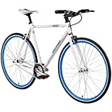 Bermuda Ocean 28'' Fixie Singlespeed Fahrrad Fixed Gear Rahmenhöhe 56 cm