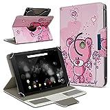 UC-Express Archos 101 Platinum 3G Tablet Hülle Tasche Schutzhülle Case Schutz Cover Drehbar, Farbe:Motiv 3