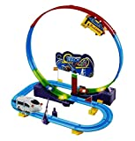 #3: Sunshine Automatic Train Tracker Set Battery Operated Train Track, 1 Train